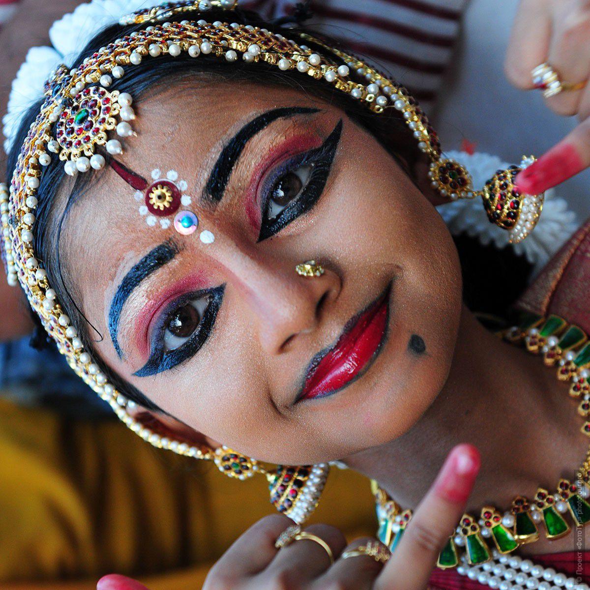 как красят губы современные индианки было очень старое