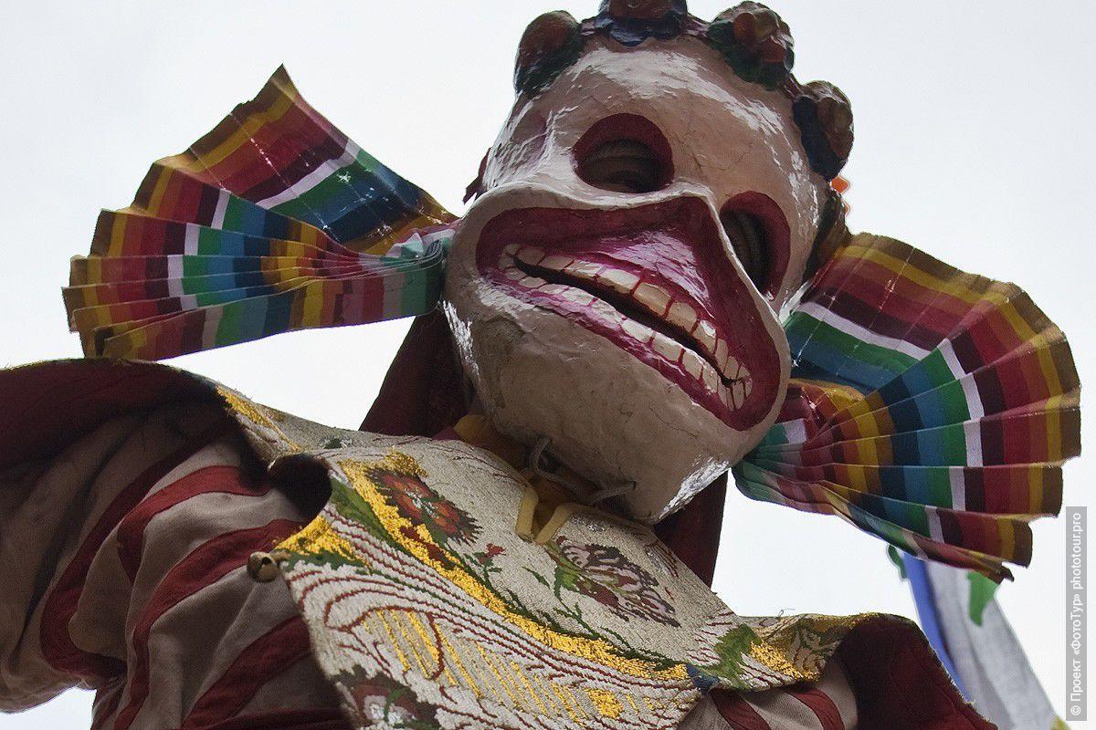 Фотографии Танца Цам, священного танца Лам с буддийских мистерий ...