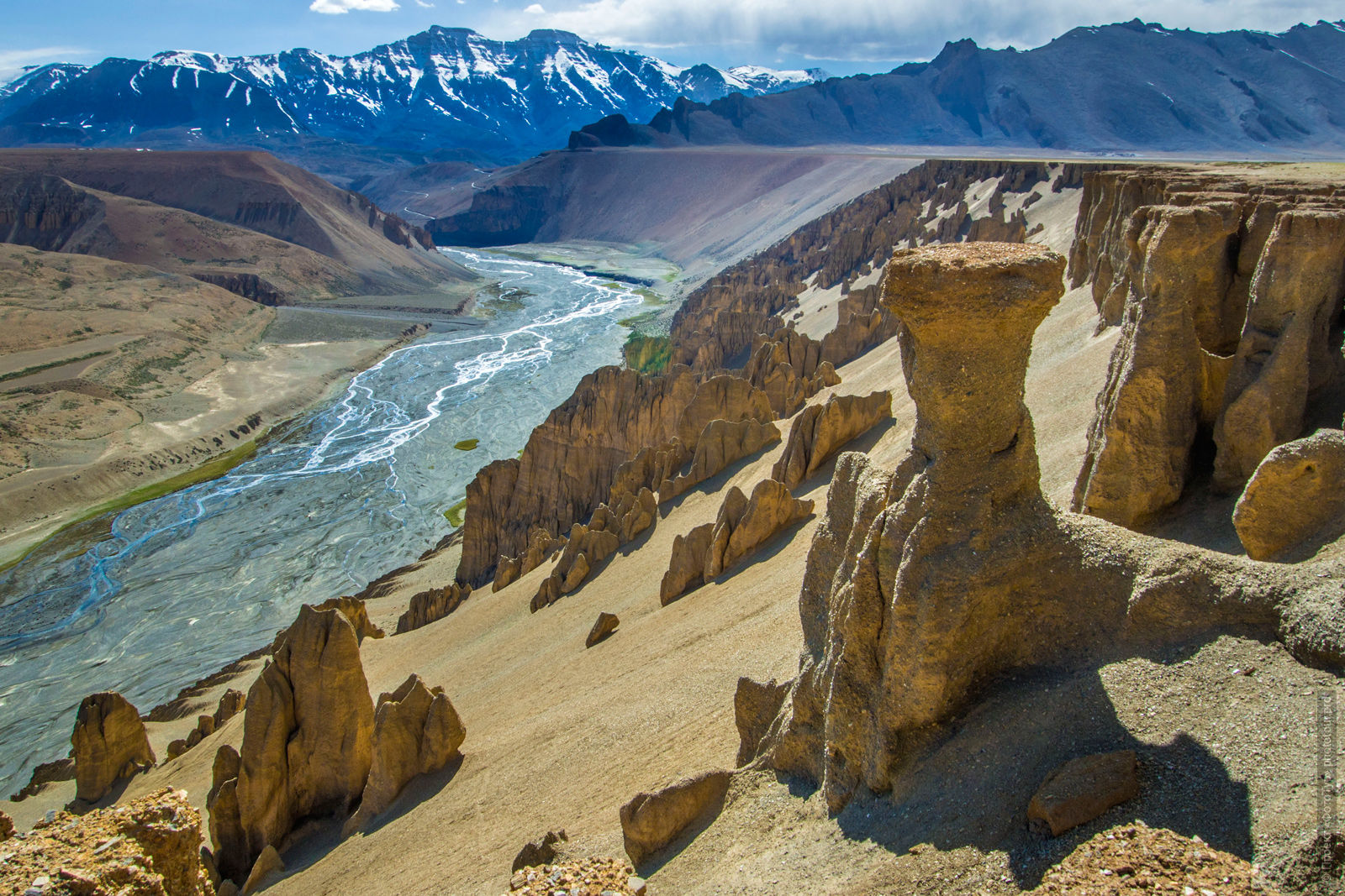 Grand Canyon Expedition Tibet Lake-2: Pangong, Tso Moriri, Tso Kar, Tso Startsapak, Leh-Manali highway.