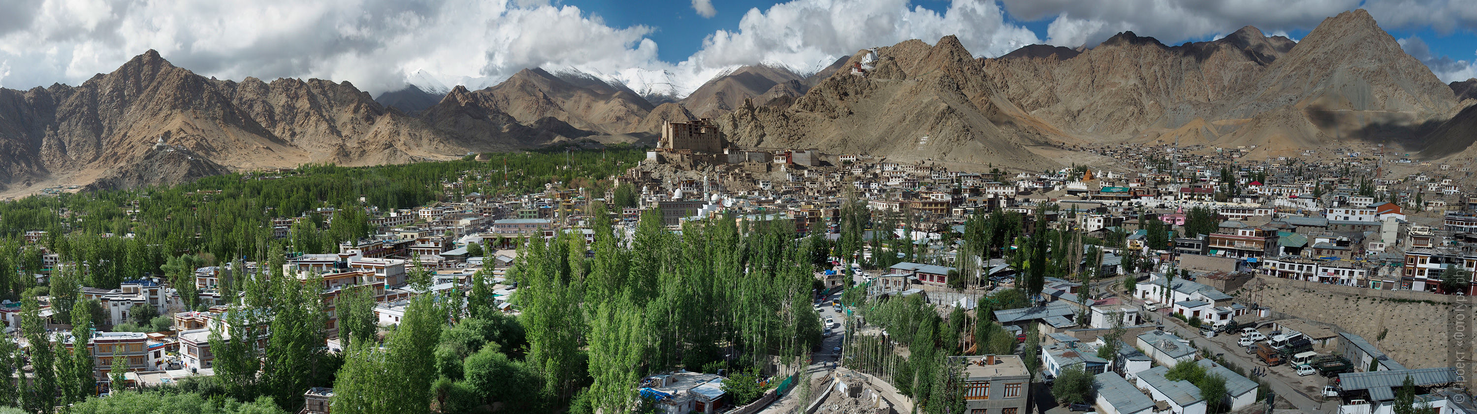 Photograph of Leh, Ladakh. Tour for artists in Tibet: Watercolor-1: Watercolor painting in Ladakh with Pavel Pugachev, 04.08. - 13.08. 2019.