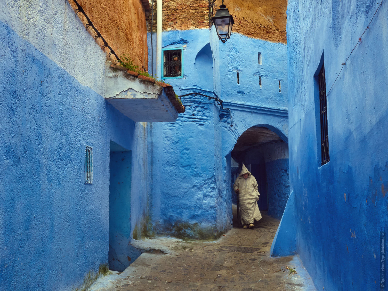 Streets of Medina Chefchaouen, Morocco, photo tour of Morocco, October 2018.