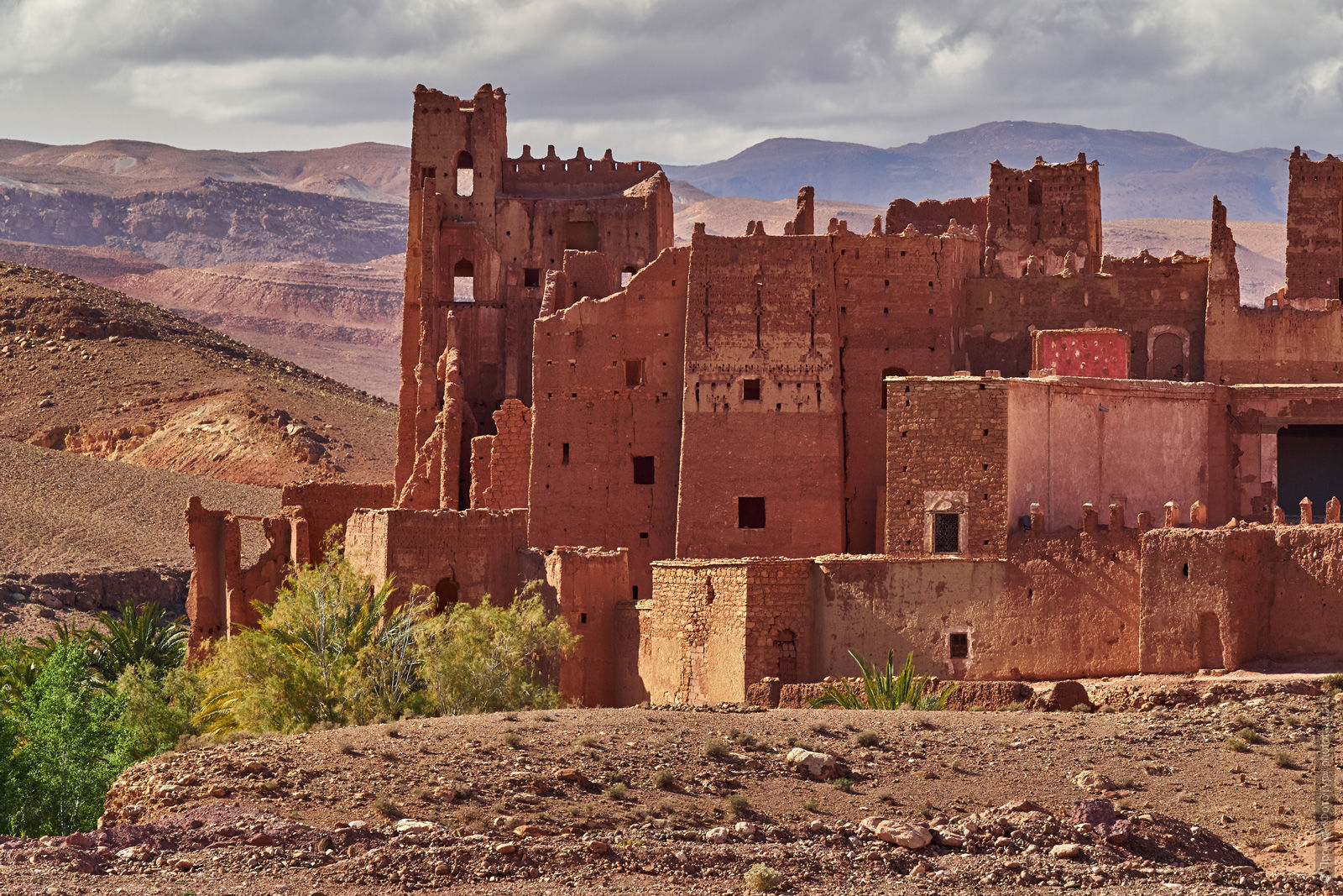 Kasbah, Morocco, photo tour of Morocco, October 2018.