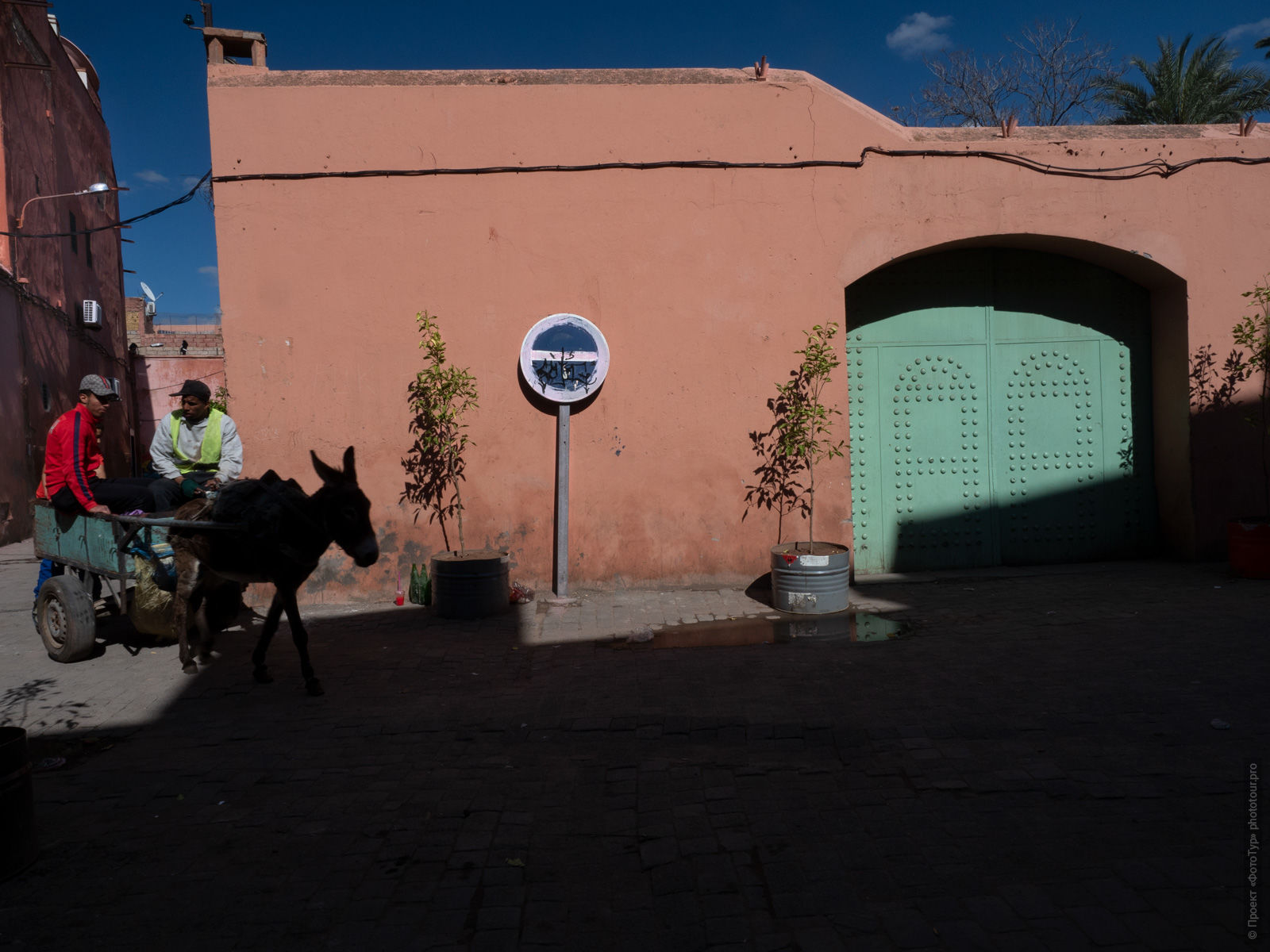 The streets of the medina of Marrakech, Morocco, photo tour of Morocco, October 2018.