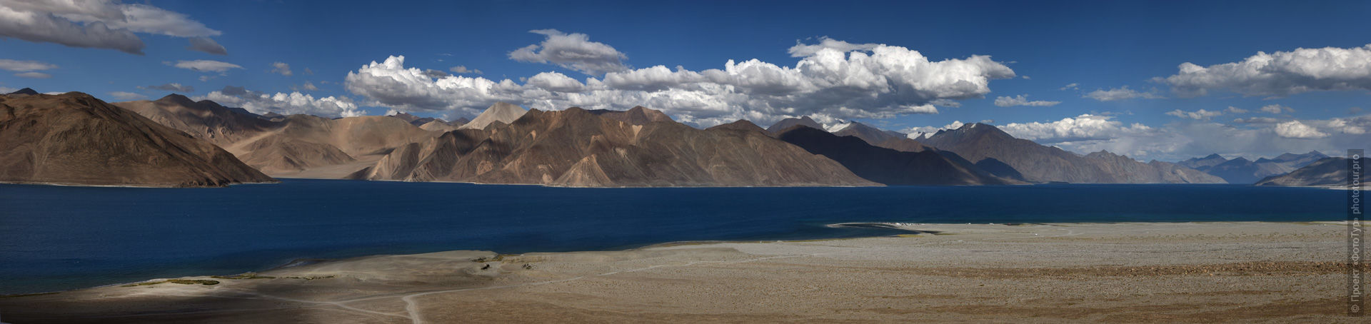 Pangong Tso Lake. Photo tour / tour Tibet of Lake-1: Pangong, Tso Moriri, Tso Kar, Tso Chiagar, Dance of Tsam on Lake Pangong, 19.06. - 28.06.2021.