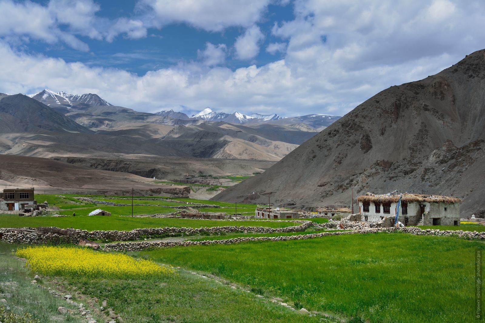 Rumtse Village. Tour Legends of Tibet: Ladakh, Lamayuru, Da Khan and Nubra, 19.09. - 28.09.2019.