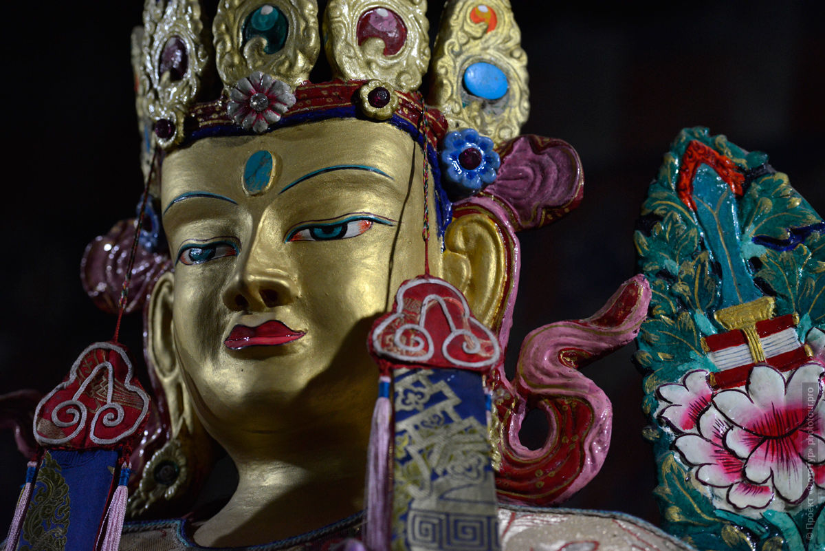 Будда Шакьямуни, Тиксей Гонпа, Ладакх, Малый Тибет, Индия.