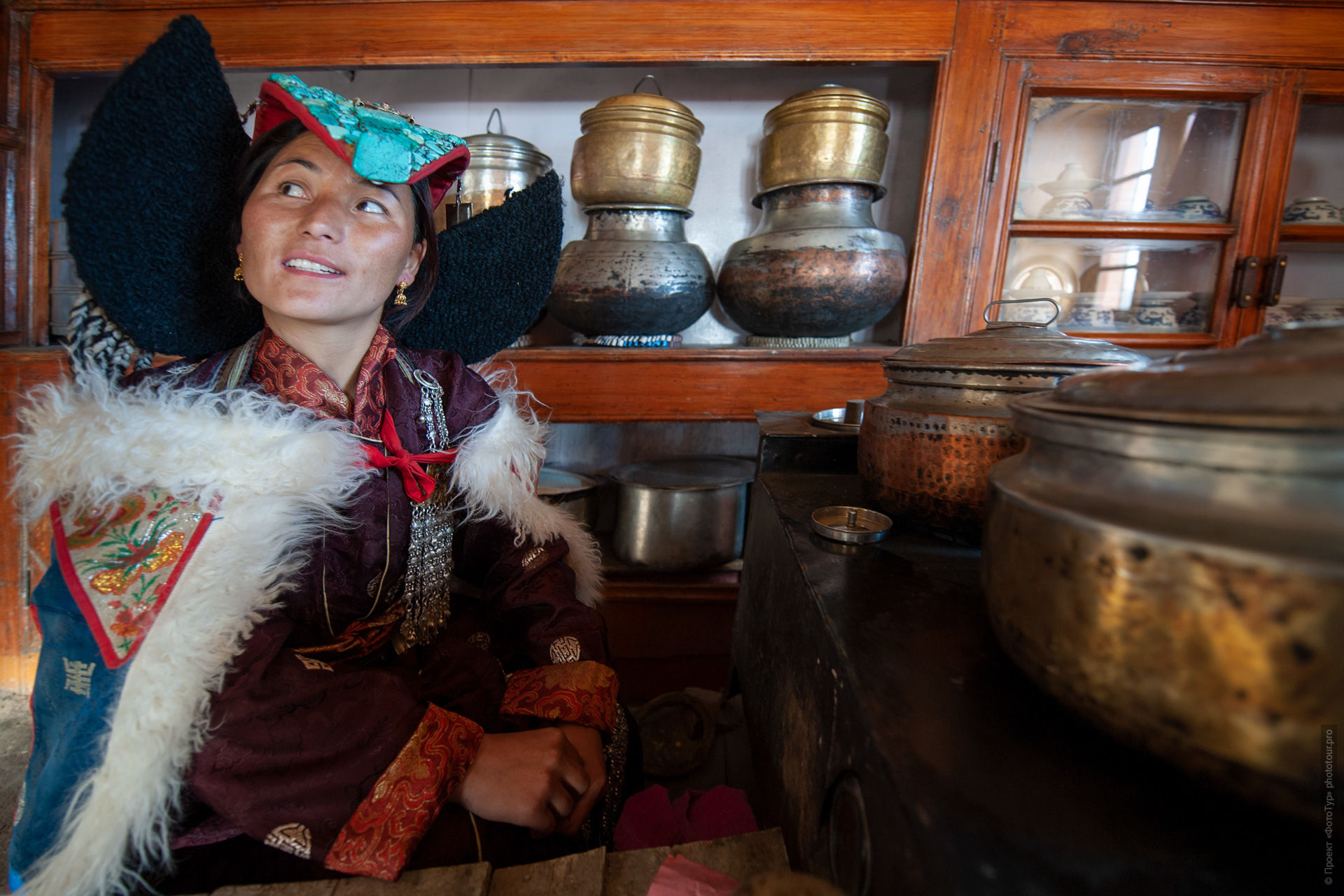 Breakfast in a traditional Ladakh house. Photo tour to Tibet for the Winter Mysteries in Ladakh, Stok and Matho monasteries, 01.03. - 03/10/2020