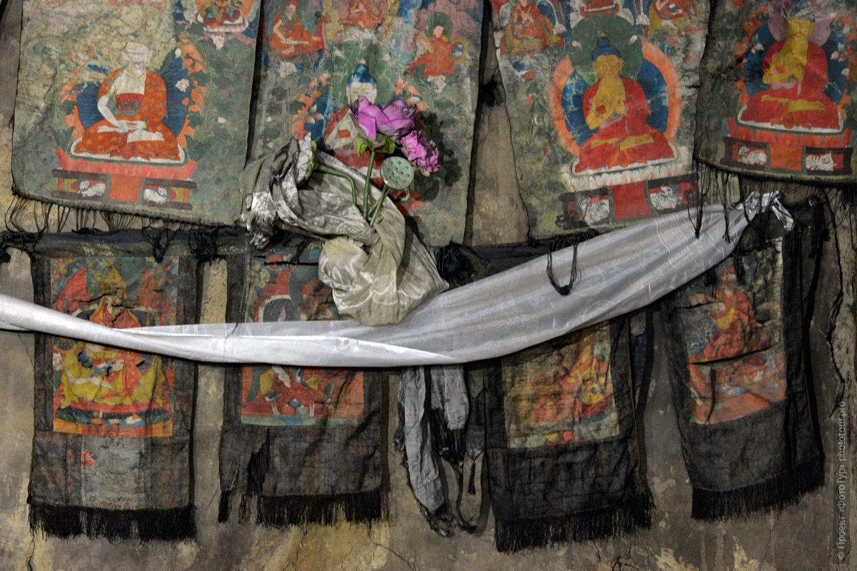 Ancient Thongs of the Tibetan Monastery of Tibsey Gonpa, Photo Tour of the Origins of Tibet, July 2019.