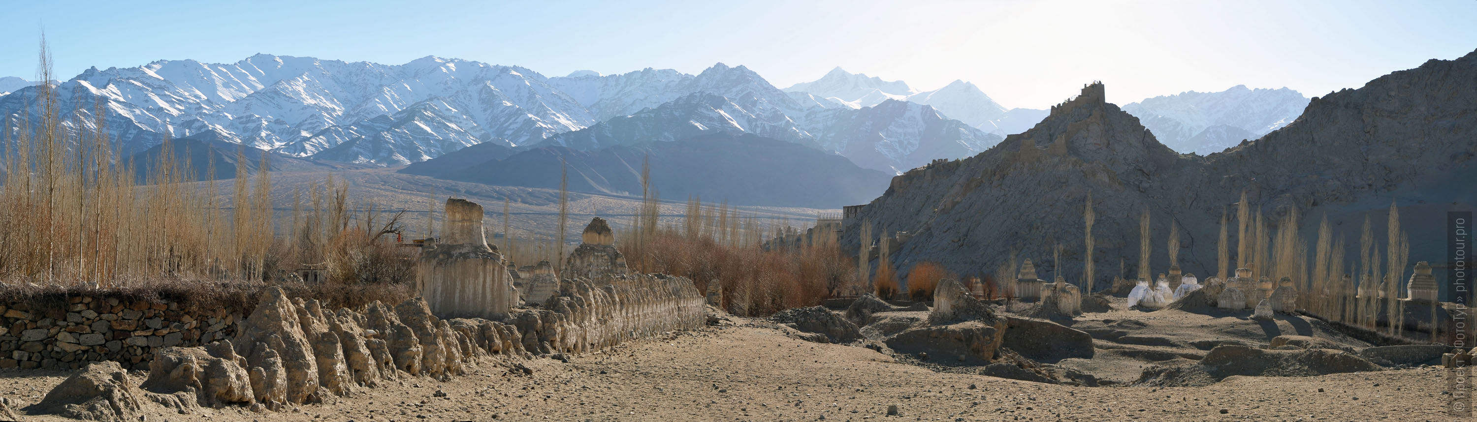 Ladakh landscape. Photo tour to Tibet for the Winter Mysteries in Ladakh, Stok and Matho monasteries, 01.03. - 03/10/2020